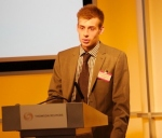 Cyber Champions Thomson Reuters - Jack Akehurst presenting