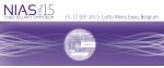NIAS 2015 event logo