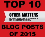 Top10 blog posts of 2015 Cyber Matters icon